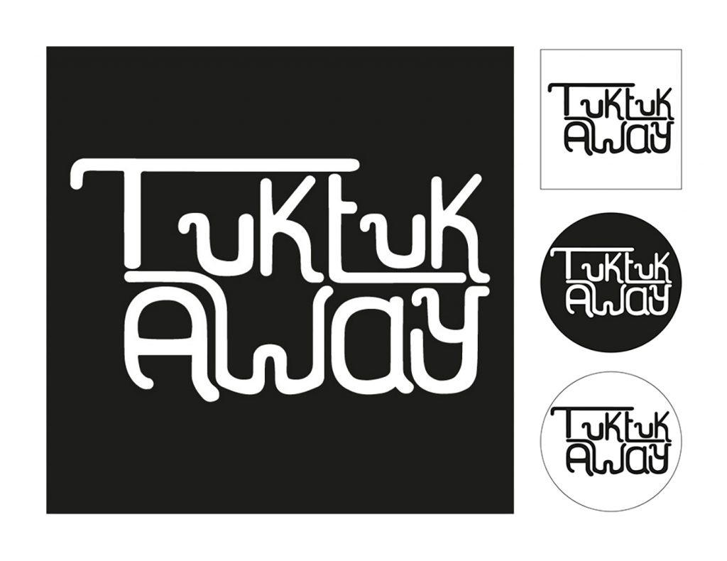 <h3>Logotype Tuk-tuk away</h3><p>    Conception d'un logotype pour un projet associatif au Cambodge.    Les membres de l'association parcourent le Cambodge en Tuk-tuk afin de donner des conseils de développement aux associations solidaires locales.    J'ai crée cette typographie en m'inspirant de l'écriture Khmer, tout en évoquant le moyen de locomotion emblématique de cette région du monde  : le Tuk-tuk, transport choisi par les membres de l'association pour effectuer leur périple.</p>