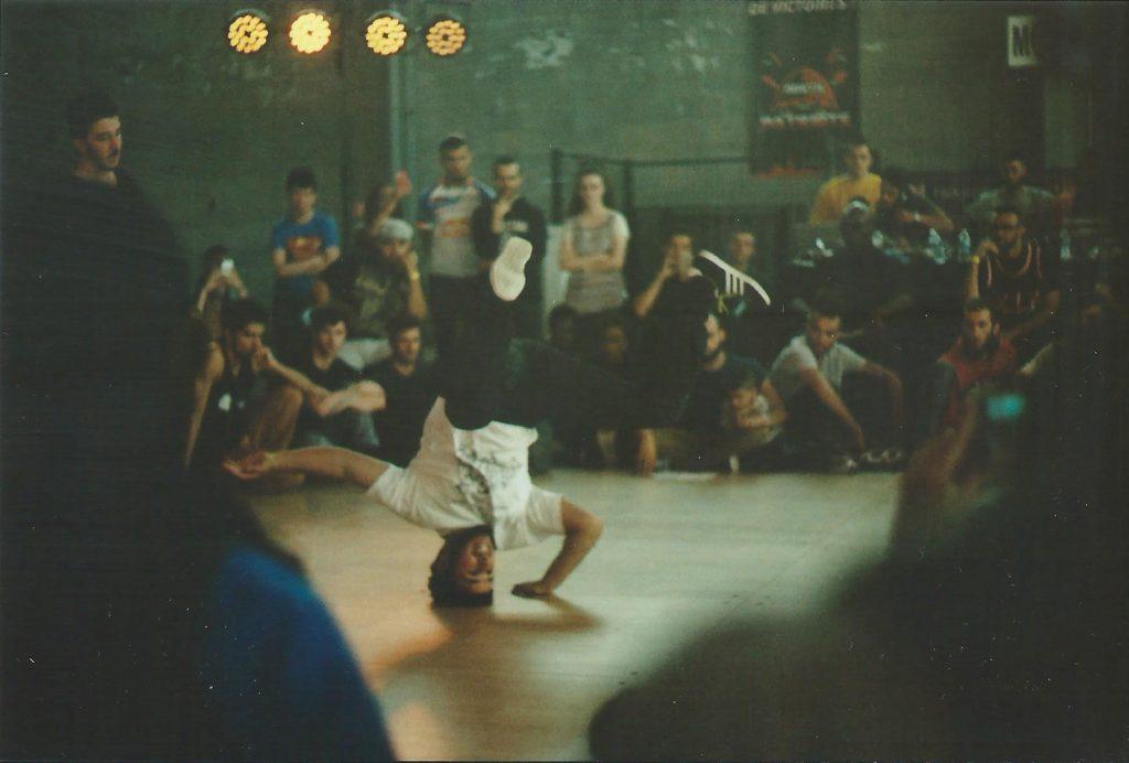 Photographie argentique, Hip hop, festival aux halles de la glisse, juin 2016, Lille, France.