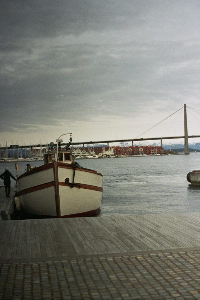 Photographie argentique, bord de mer, février 2018, Stavanger, Norvège.