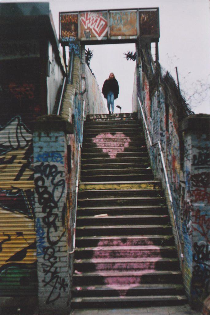 Photographie argentique, l'escalier, février 2017, Londres, Angleterre.