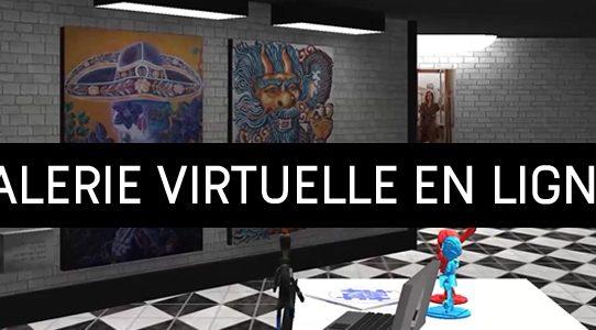 Galerie virtuelle en ligne!