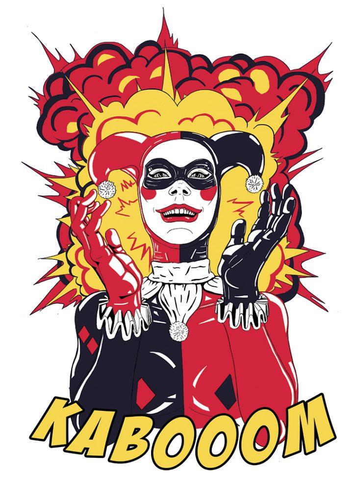 Design Harley Quinn & produits dérivés