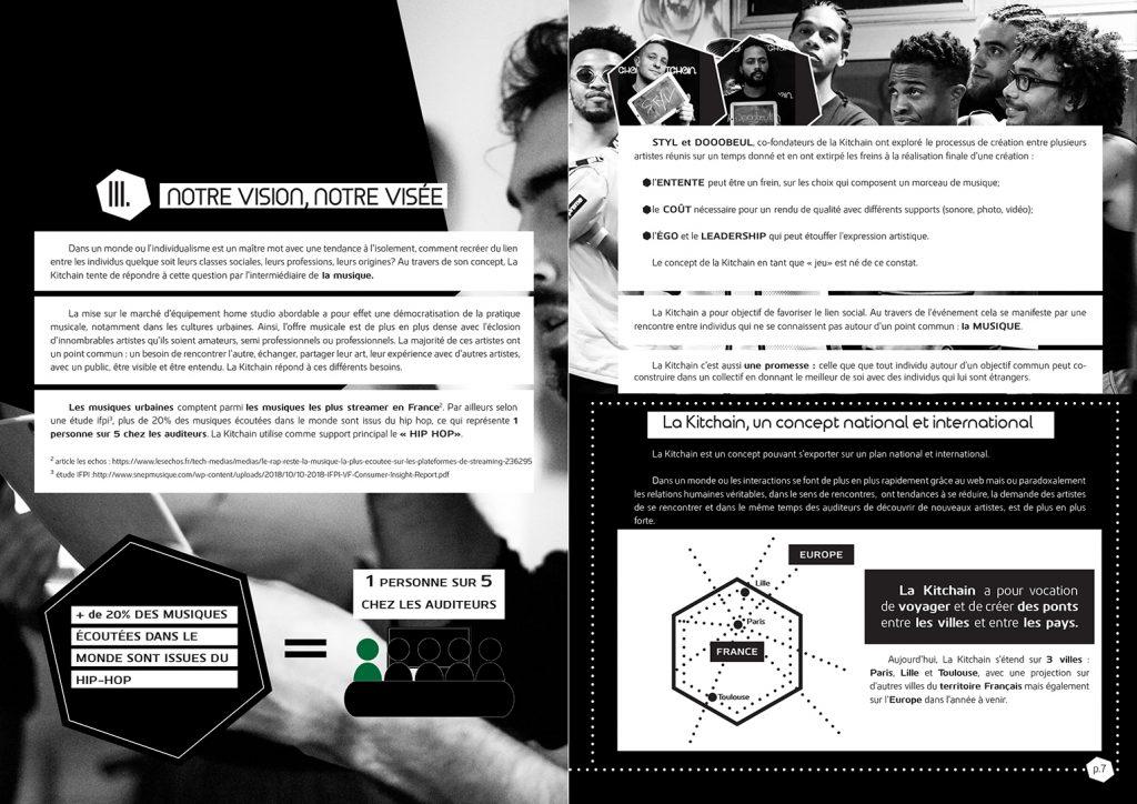 Mise en page de dossier pour la Kitchain